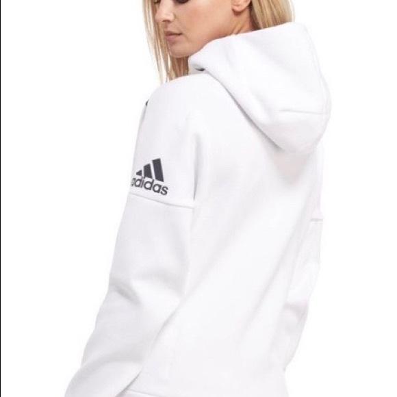 adidas Jackets   Blazers - Adidas ZNE full zip women s hoodie   Size M fcd3414238